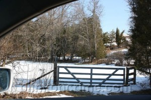 Red Hill Access Gate, Courtesy Crystal S